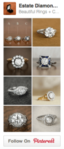 Estate Diamond Jewelry Collection