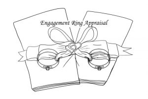 Engagement Ring Insurance with rings and bows