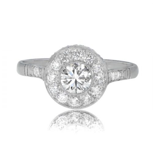 0 40 Carat Estate Diamond Engagement Ring Estate Diamond Jewelry