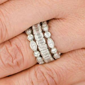 Antique Stackable Wedding Bands Styling Tips and More