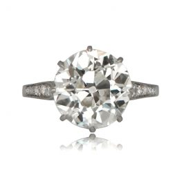 4.65 Carat Antique Engagement Ring