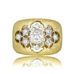Ornate Buccellati Engagement Ring