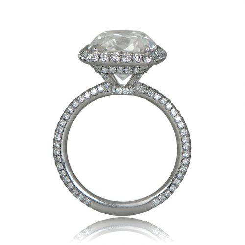 Estate 5.44 Carat Engagement Ring