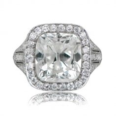 six carat diamond ring