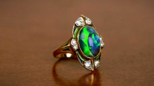 Antique Tiffany and Co Opal Ring