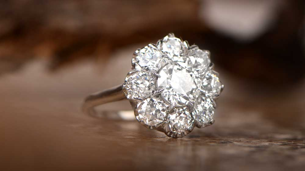 Promise Ring in Nature