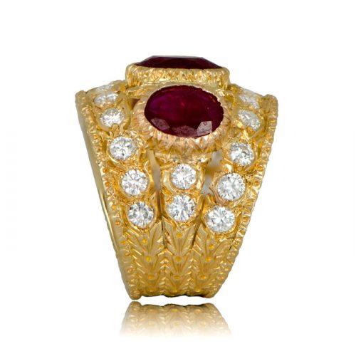 Vintage Buccellati Ruby Ring