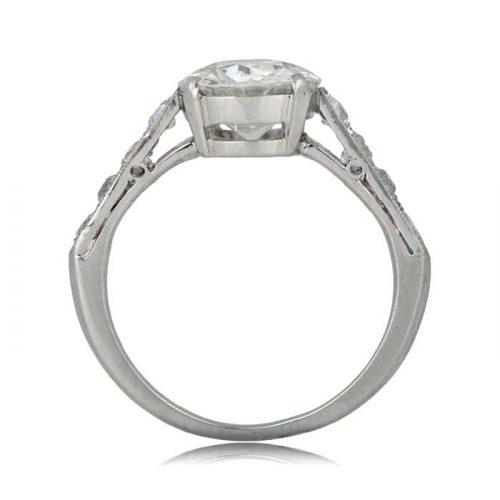 Newport Platinum Ring