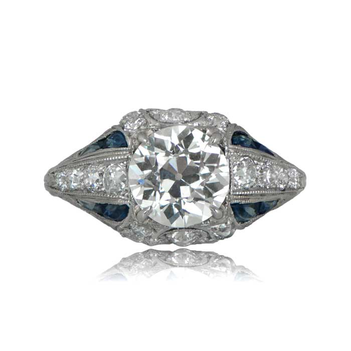 Art Deco Engagement Ring Circa 1925 Estate Diamond Jewelry
