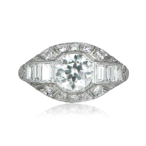 Art Deco Engagement Ring