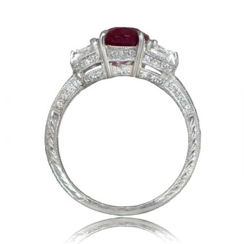 Estate Ruby Cocktail Ring