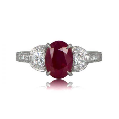 Estate Ruby Ring
