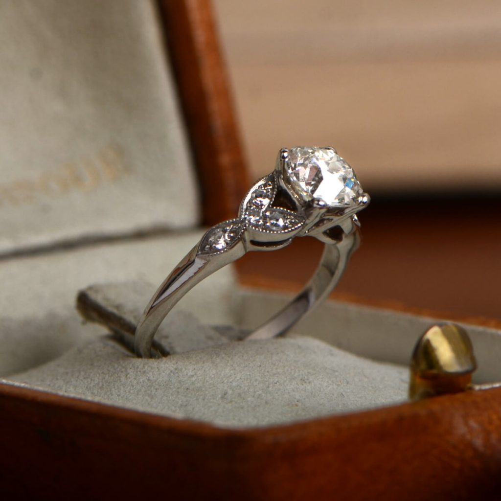 artsy non of diamond awesome unconventional alternative engagement rings