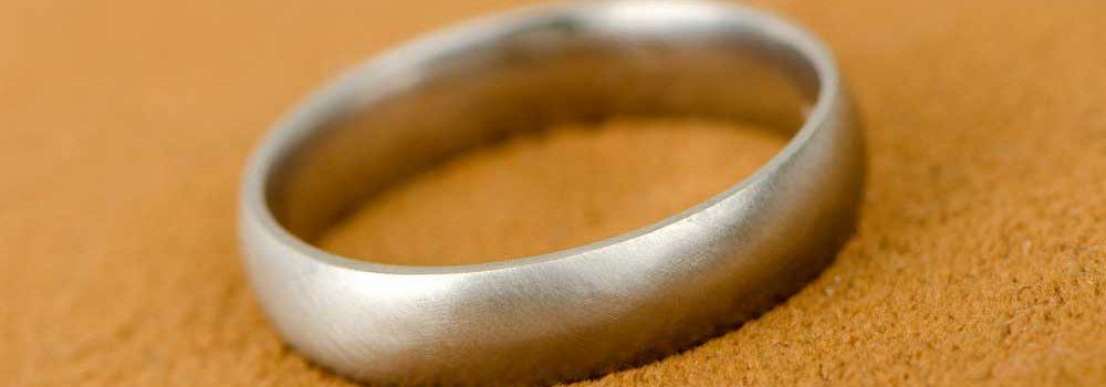 Who buys guys wedding ring