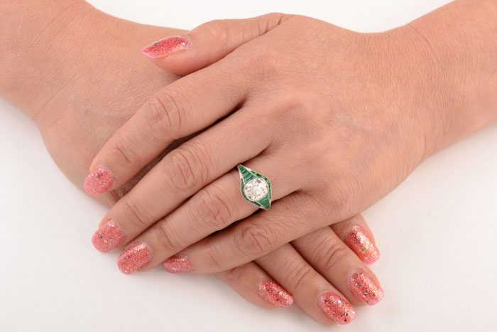 Tropea Ring on a Finger