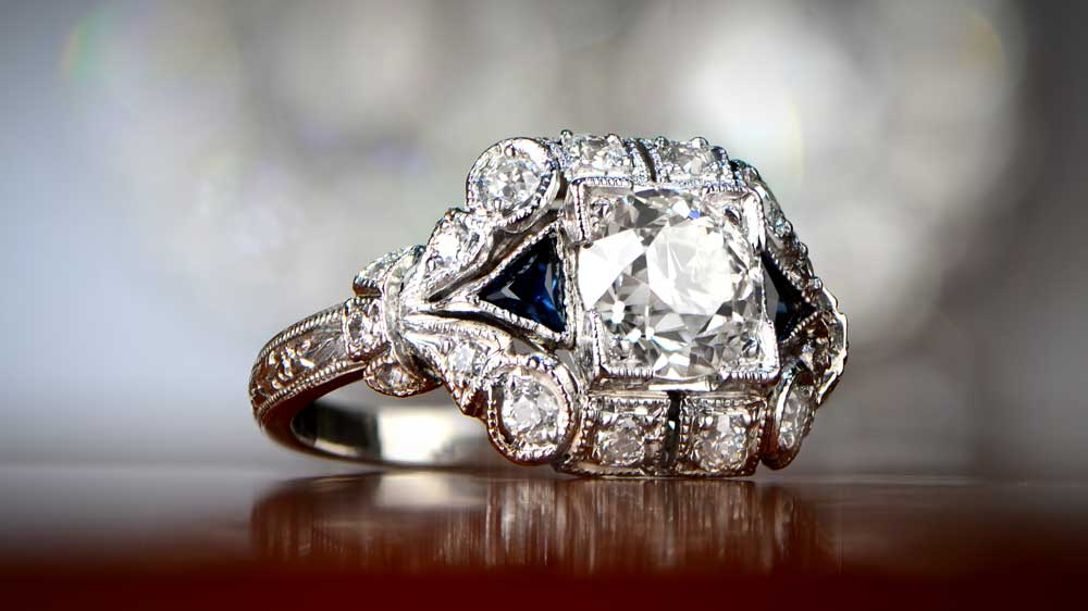 An Example Of Upgrade Engagement Ring