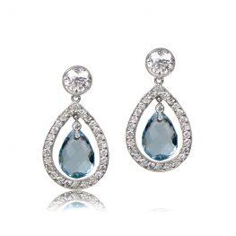 Florence Aquamarine Earrings