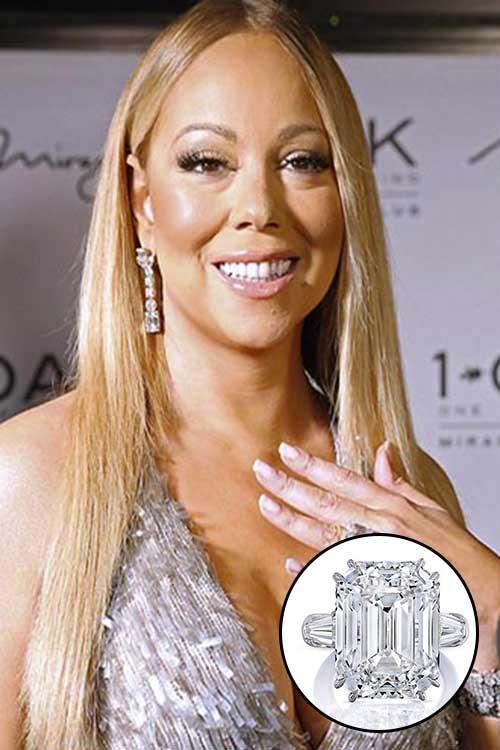 Diana singer estate jewelry style guru fashion glitz for Mariah carey jewelry line claire s