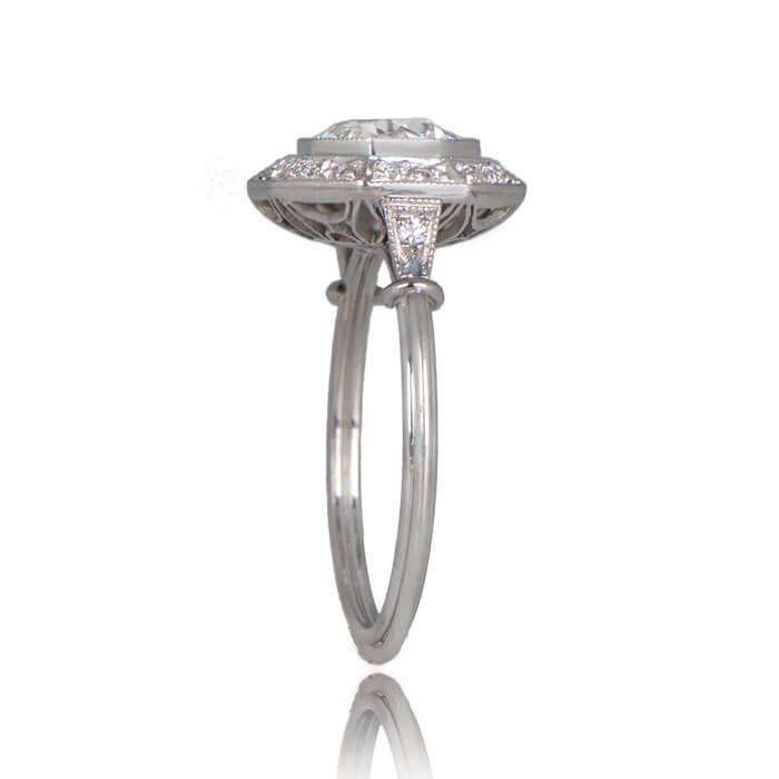 Revel Engagement Ring Top Side
