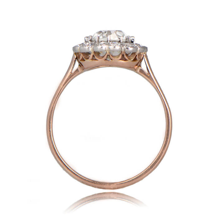 Side Profile of Eura Ring