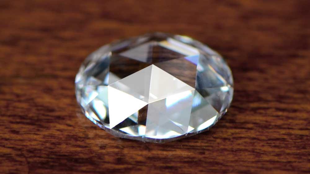 Loose Diamond on Table
