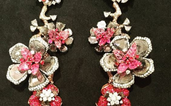 Loraine Shwartz Earrings from Instagram