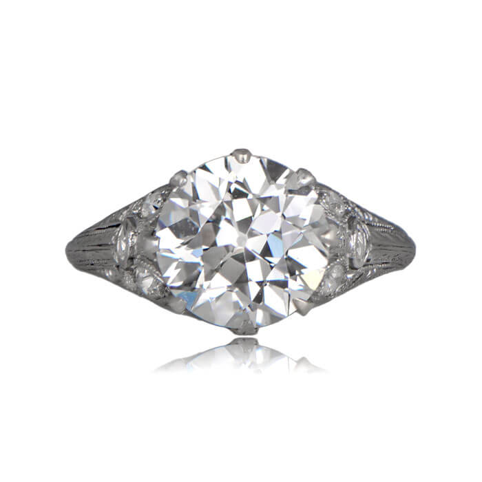 Belcastel Diamond Engagement Ring