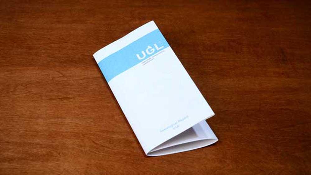 UGL Diamond Certification on Table