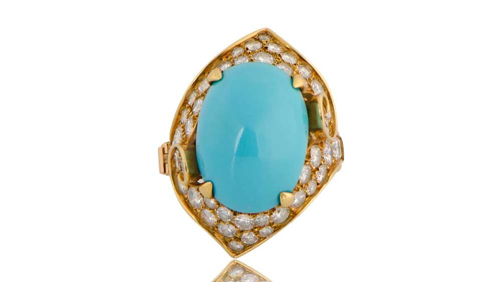 Bulgari Turquoise Ring