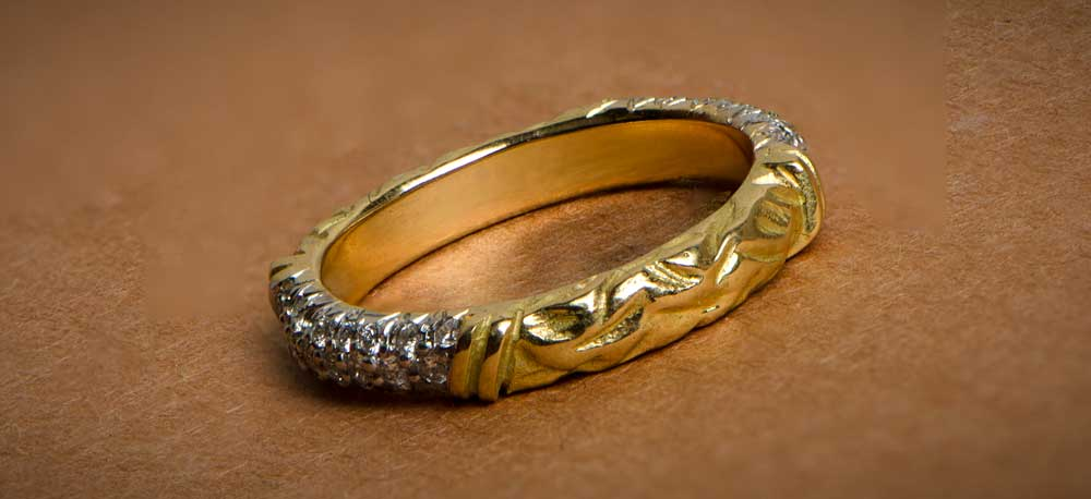 How to Clean your Wedding Band - Estate Diamond Jewelry