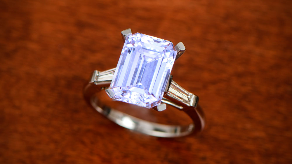 Zircon Birthstone in Ring
