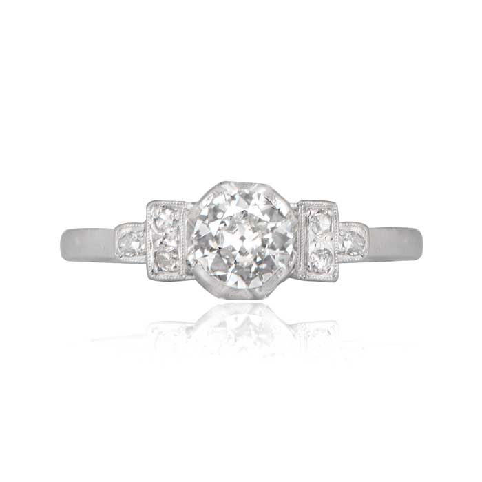 11883 Vintage Ring Front View