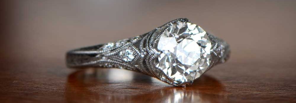 Conflict Free Diamond Engagement Ring