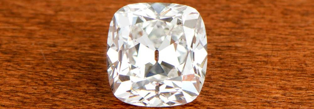 Old Mine Cushion Cut Diamond