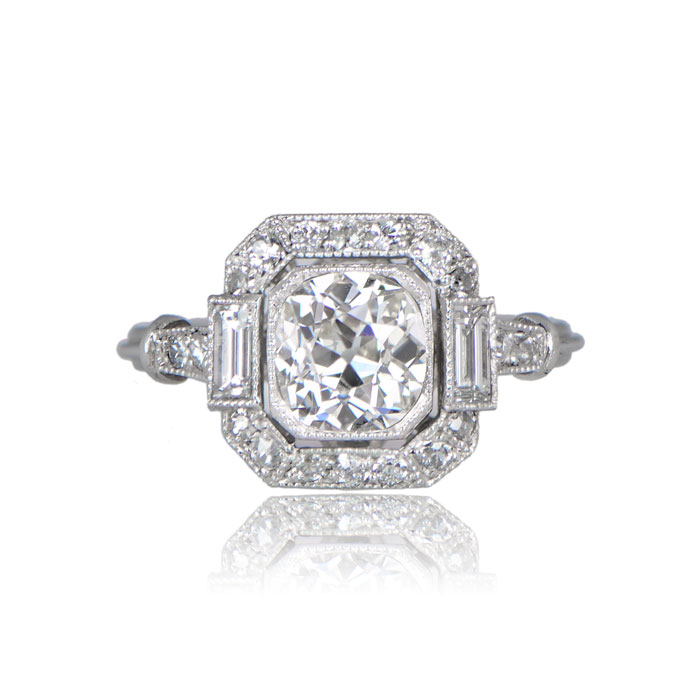 Front View of Oakland Ring