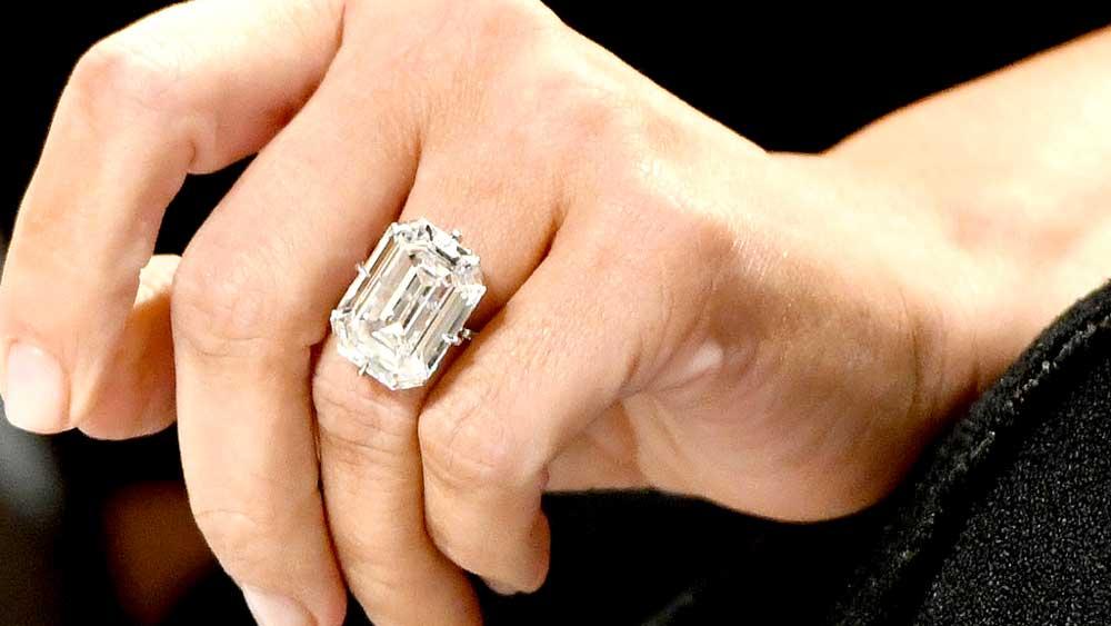 Kim Kardashian D Color Diamond Ring