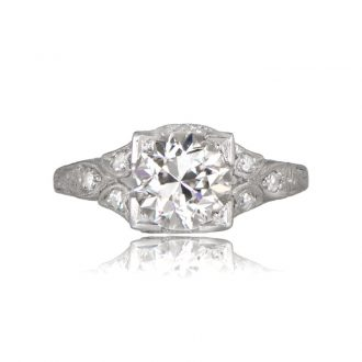 Vintage And Antique Engagement Rings Estate Diamond Jewelry