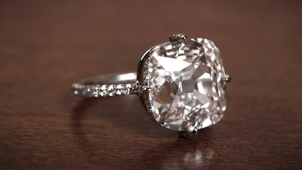 5 Carat Diamond Engagement Ring