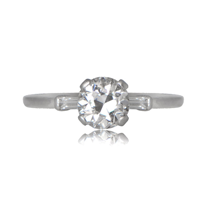 Antique Charleston Ring Top View