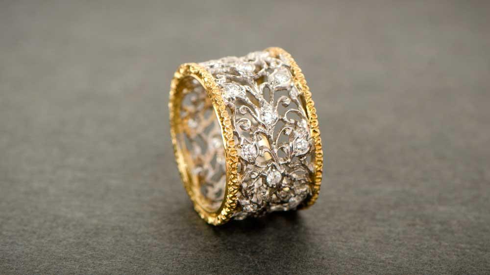 Creative Wedding Rings Estate Diamond Jewelry