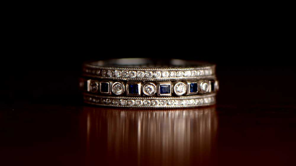 Creative Wedding Rings Estate Diamond Jewelry