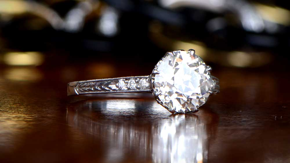 2 Carat Diamond Engagement Ring