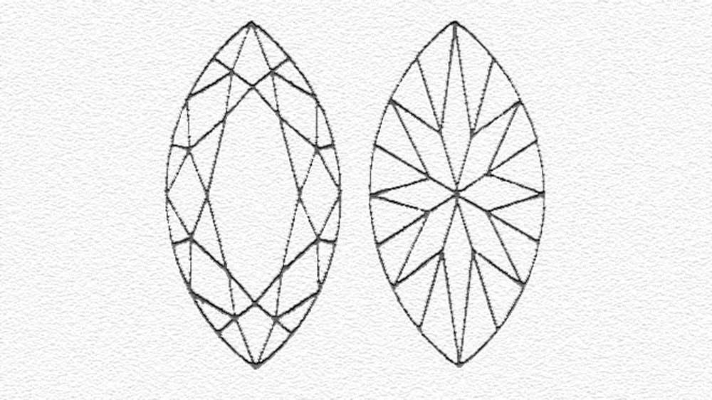 Marquisse Cut Diamond
