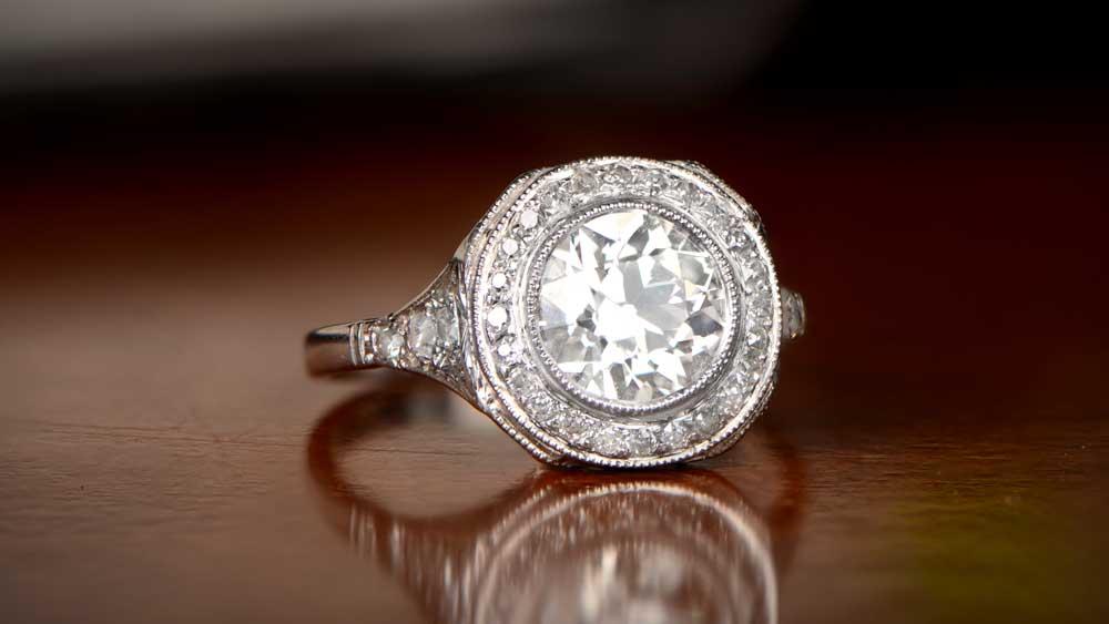 Vintage Ring for Proposal