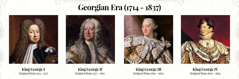 Georgian Kings of the Georgian Era