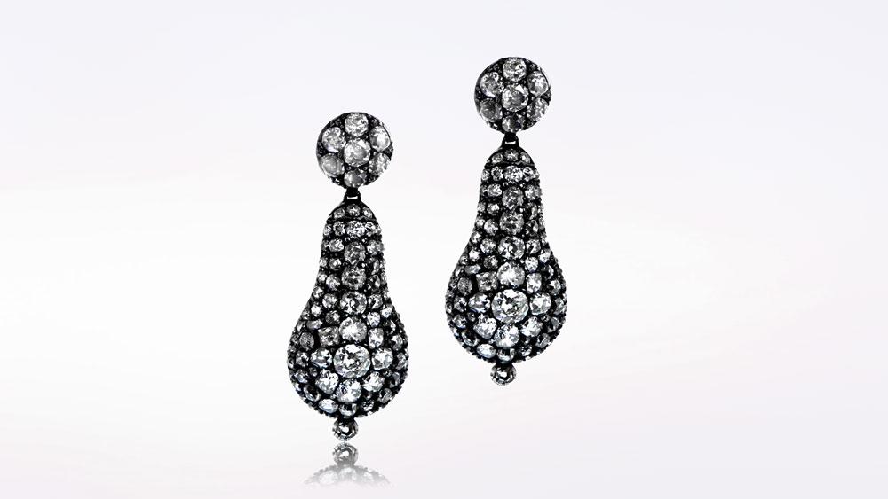 Very Rare Georgian Earrings