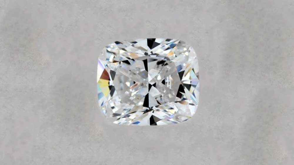 Brilliant Cushion Cut Diamond