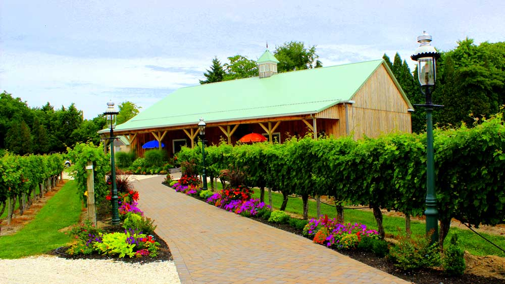 Cape May Winery Pathway