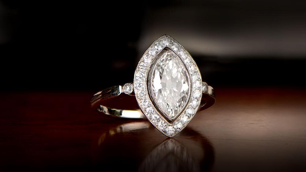 Half Carat Diamond Ring