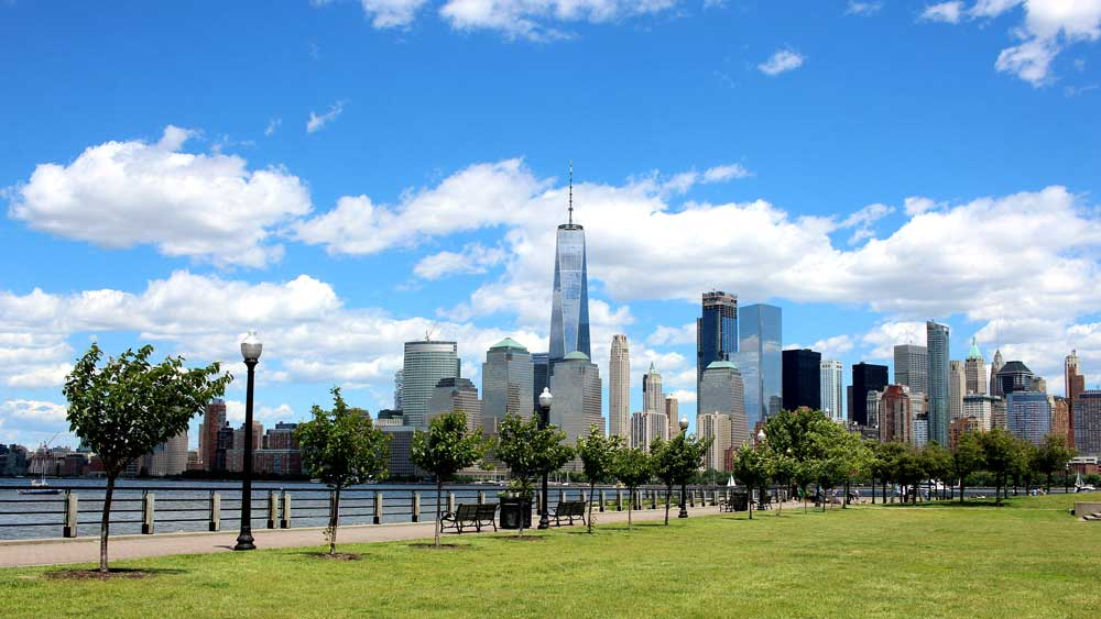 Liberty State Park Park Benches